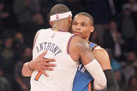 Carmelo Anthony Bench Press Thunder News Relationship With Russell Westbrook Played Big Role