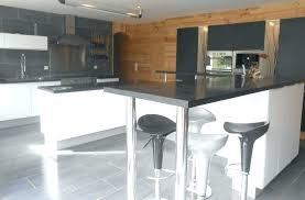 cuisine bar table bar de cuisine avec rangement bar avec 2 allonges rabattables