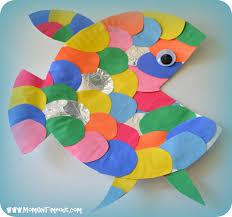 manualidad pez la pesca milagrosa escuela dominical pinterest