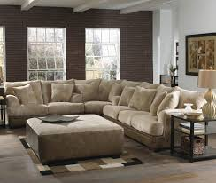 living room latest trend of leather sectional sofa with power