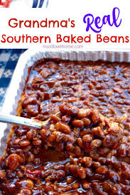 grandma u0027s real southern baked beans recipe southern baked