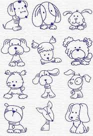 best 25 dog drawing simple ideas on pinterest