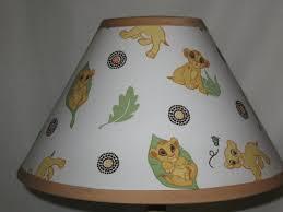 super mario lamp shade lion king fabric nursery lampshade baby