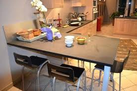 table de cuisine avec plan de travail table de cuisine plan de travail meuble cuisine table chaise de