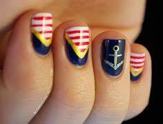 uñas nauticas mas de 40 ejemplos u2013 nautical nails decoración de