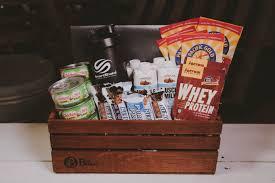 healthy snack gift basket the health nut protein gift basket the brobasket