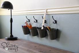 Arts And Crafts Room Ideas - 23 creative ways of using buckets in interior and exterior décor