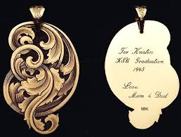 engraved jewelry jewerly engraved by steve lindsay