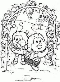16 coloring pages 28 rainbow brite images