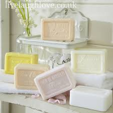 Vintage Bathroom Accessories Uk by 6 Traditional French Soap Oblong Live Laugh Love