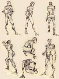 some more figure drawing by luthie13 on deviantart anatomía