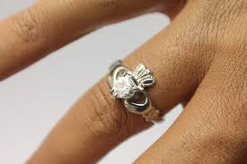 claddagh ring claddagh ring silver claddagh ring set with cubic