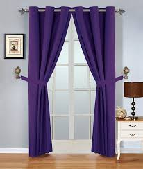 amazon com wpm 4 piece blackout curtain set grommet curtains and