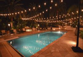 outside party lights ideas pool outdoor string lights appealing outdoor string lights garden