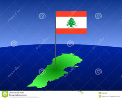 Map Of Lebanon Map Of Lebanon With Flag Royalty Free Stock Photos Image 3089298