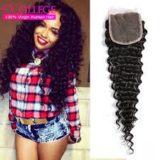 sew in with lace closure curly closure with baby hair lace closure sew in