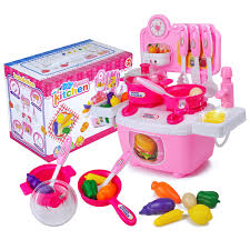 plastique cuisine garçon fille jouer maison jouet cuisine en plastique puzzle couverts