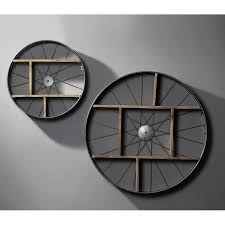 Shelves On Wheels by Iron Solid Wood Shelves On Wheels Industrial Wall Accessories