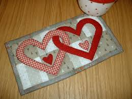 Quilted Rugs Free Quilt Block Patterns For Valentines Day Hearts