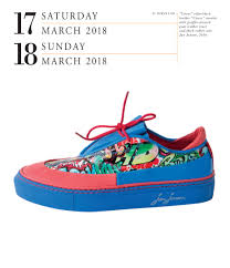 shoes page a day gallery calendar 2018 workman publishing