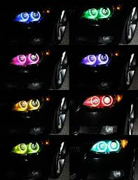 bmw headlights 2015 newest mobile wifi rgb led marker angel eyes for bmw e87 e82