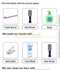 enjoyable science worksheet teach personal hygiene to child