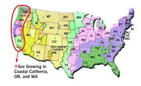 Gardening Zones Usa Map - where you garden