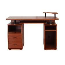 Tesco Computer Desk Buy Homcom Computer Desk Workstation Black Brown Or White Lilac
