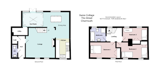 swiss cottage lyme bay holidays view floor plan