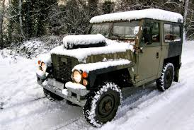 land rover snow land rover lightweight