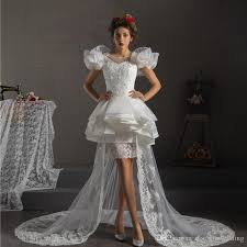 made in usa wedding dress discount modern high low wedding dresses 2017 arrival