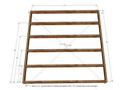 How To Build A King Size Platform Bed Ana White King Size Platform by Bed Frames Wallpaper High Resolution Diy Bed Headboard Diy King