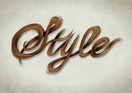 vector typography tutorial create a stylish vector hair typography illustration