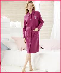 robe de chambre damart femme de chambre 352804 robe de chambre en molleton polaire