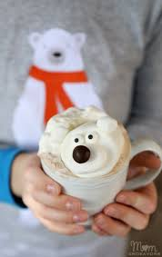 polar bear chocolate
