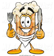 cartoon beer food clip art of a foaming beer mug mascot cartoon character