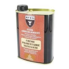 creme pour canape cuir achat crème pigmentaire teintante pour cuir d ameublement avel