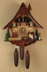 Modern Coo Coo Clock 8 Day Musical Cuckoo Clocks North Coast Imports