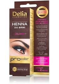 Henna Eye Makeup Delia Henna Gel To Eyelashes And Eyebrows 15ml Dark Brown 3 0