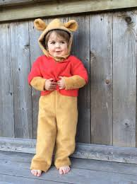 Toddler Bear Halloween Costume Winnie Pooh Halloween Costume Classic Kids Book Character