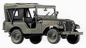 jeep us us allies m38a1 1 4 ton general purpose jeep ho scale model