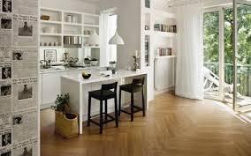 cuisine sol parquet carrelage cuisine céramique imitation parquet