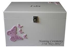 personalized wooden keepsake box large personalised white wooden baby keepsake boxes with