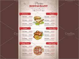 44 menu brochures templates free u0026 premium templates