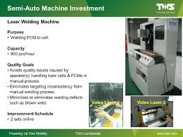 li ion polymer production line capability enhancement ppt download