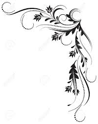 decorative ornament for various design artwork royalty free