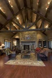 timber frame great room lighting track lighting on beams timber frame great rooms pinterest