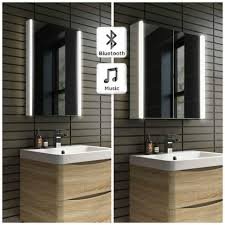 bathroom cabinets lansdown illuminated mirrored bathroom