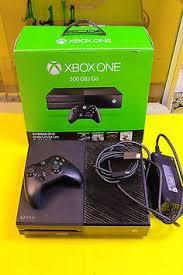 microsoft xbox one kinect bundle 500gb black console 7uv 00239 nice microsoft xbox one 500 gb black console with 2 controls and 6
