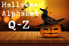 free halloween coloring pages halloween alphabet